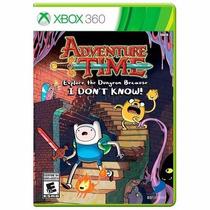 Adventure Time Explore The Dungeon Xbox 360 Físico + Brinde