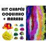 Kit Festa C/ 50 Chapéu Coquinho + 25 Marabu