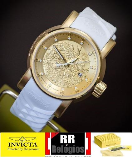 5ad880e9da0 Relógio Invicta Masculino Yakuza 19546 - Original   Branco R 900 ...