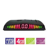 Kit Sensor Estacionamento Orbe 4 Pts Wireless Display Slim