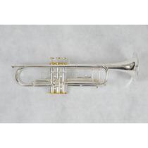 Trompete Suzuki Pro-tr1 Prateado Profissional