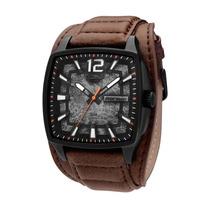 Relógio Masculino Mormaii Pulseira De Couro Mo197357/3m