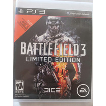 Ps3 - Battlefield 3 Limited Edition