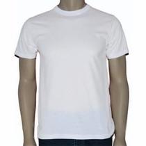 Camiseta Branca Básica Em Promoção Direto Da Fabrica