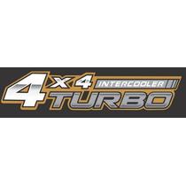 Adesivo 4x4 Turbo Intercooler Hilux (par)-frete Gartis