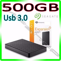 Hd 500gb Externo Seagate Exp Usb 3.0 E 2.0 Portátil Original
