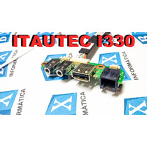 Placa Audio Usb Ntelbras I330
