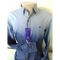 Camisa Slim Fit Masculina Original Tommy Armani Lacoste