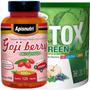 Kit Emagrecimento - Goji Berry 120 Cáps + Detox Green 300g