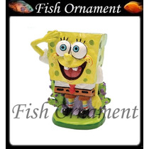 Enfeite Penn Plax Bob Esponja Mini Fish Ornament