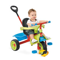 Triciclo Infantil Smart Haste Removível Verde Bandeirante