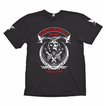 Camisa Black Sabbath The End Turnê Final Metal Rock