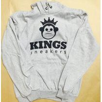 Blusa Frio Kings Sneakers Malha 100% Algodao