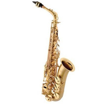 Saxofone Alto Eagle Sa500bgd Em Mib (eb) Com Case - Laqueado