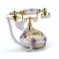 Telefone De Mesa Vintage Antigo Retro Decoração Presentes