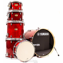 Bateria Yamaha Stage Custom Birch Cranberry Red Lacquer 22¨,