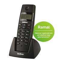 Telefone S/fio C/identificador Para Ramal Ts40r Intelbras