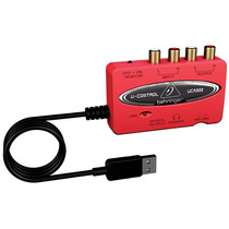 Uca222 Interface Uca-222 Usb Audio E Instrumentos Behringer
