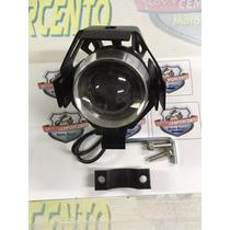 Farol Milha Led Neblina Auxiliar Para Moto Bmw Gs 650/800