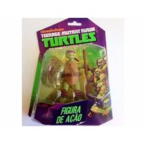 Boneco Donatello Tartarugas Ninja Nickelodeon Multikids 12cm