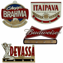 Porta Chaves Em Relevo - Escolha O Seu - Cerveja - Wiskey