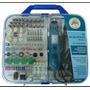 Kit Micro Mini Retifica Furadeira Politriz Lixadeira 110volt