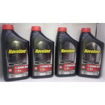 Óleo Havoline 20w-50 Sj Superior Kit 4 Litros