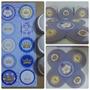 50 Forminhas Coroa Azul + 30 Adesivos P/ Latinha R$ 20,99