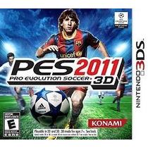 Pro Evolution Soccer 2011 3d -n3ds Novo E Lacrado