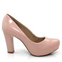 Sapato Feminino Scarpin Of Shoes 1586650