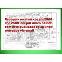 Esquema Receiver Cce Shc2500 Shc 2500 Em Pdf