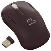 Mouse Óptico Usb S/fio Preto Multilaser