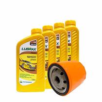 Óleo Lubrax Semissintético 15w-40 Kit 4 Lt + Filtro