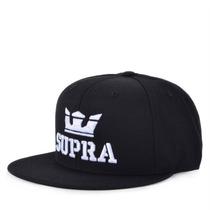 Boné Supra Snapback Above Black White S6211501