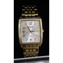 Relógio Orient Folheado A Ouro Social Garantia E Nf