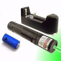 Super Caneta Laser Pointer 25000mw Verde 20km Longe