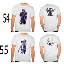 2 Camisas 28,90 Cavaleiros Do Zodiaco