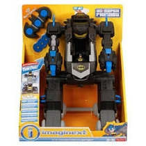 Sher-price Imaginext Dc Super Friends Rc Transforming Bat Bo