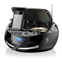 Rádio Cd Player Mp3 Boombox Dock Station Multilaser Sp157