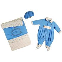 Saída Maternidade Príncipe Azul Reve Dor - Rn