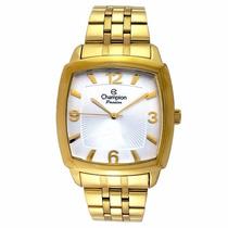 Relógio Dourado Original Champion Garantia Oferta Barato 40h