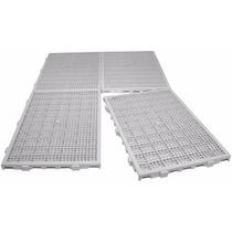 Estrado Plástico 50 X 25 X 2,5cm Branco Multiusos