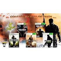 Black Ops3 + Ops1 + Mw3 + Mw2 + Cod4 Xbox 360 Midia Digital!