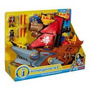 Imaginext Navio Pirata Tubarão Mattel Fisher Price Pronta En