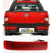 Refletor Parachoque Traseiro Fiat Strada 2005 A 2013 Esquerd