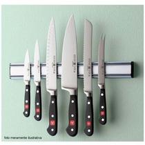 Barra Magnética Imã Facas Cozinha Churrasqueira 45cm