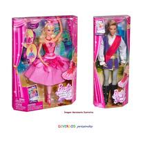 Barbie E Ken Sapatilhas Mágicas - 2012 - Original Mattel
