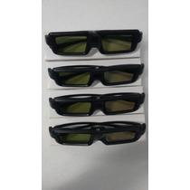 Kit 4 Óculos Ativo 3d Tvs Plasma Philco Novo Frete Grátis