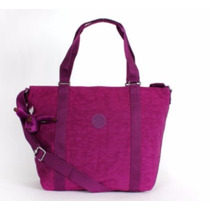Kipling Adara Bolsa Tamanho Grande Tm4055 Purple