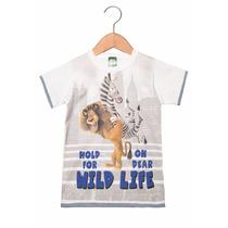 Camiseta Infantil Masculina Madagascar